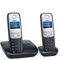Gigaset A400A Duo Cordless Phone with Answering Machine - Clearance