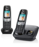 Gigaset C620A Duo Cordless Phone with Answering Machine - Clearance