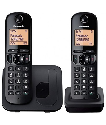 Panasonic KX-TGC212EB Twin Cordless Phone - Clearance