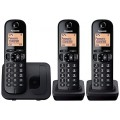 Panasonic KX-TGC213EB Trio Cordless Phone - Clearance