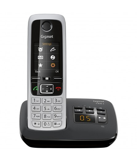 Gigaset C430A Cordless Phone with Answering Machine - Refurb