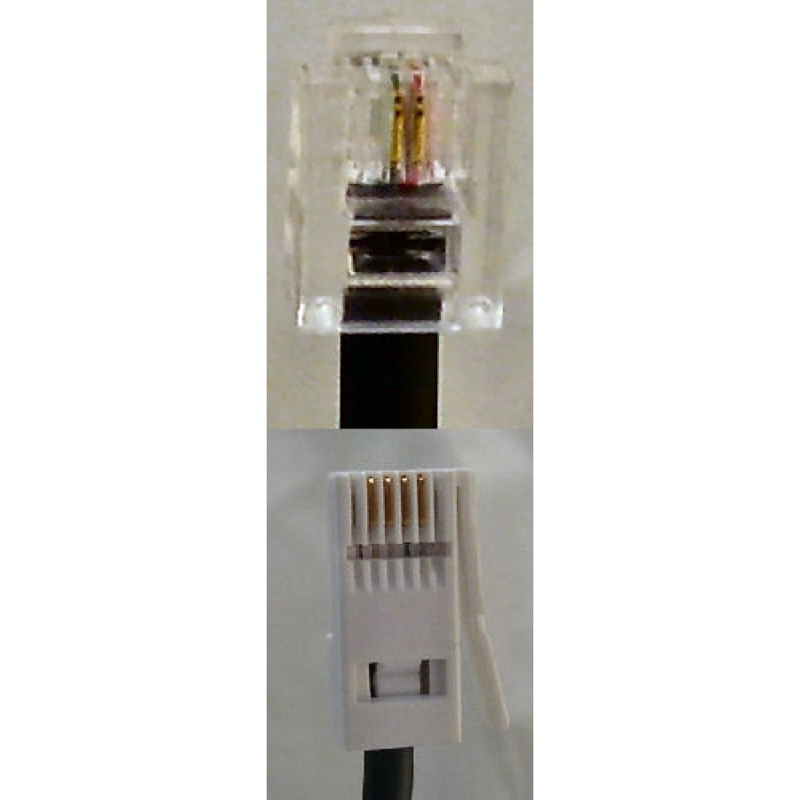 Replacement Telephone Line Cable for Philips, Binatone, Gigaset ...