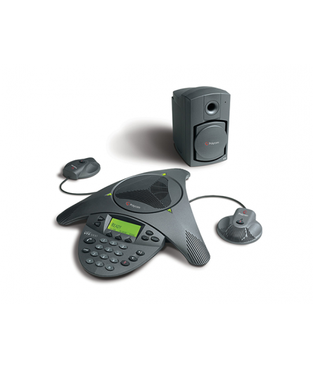 Polycom SoundStation VTX 1000 with Mics and Subwoofer - Clearance